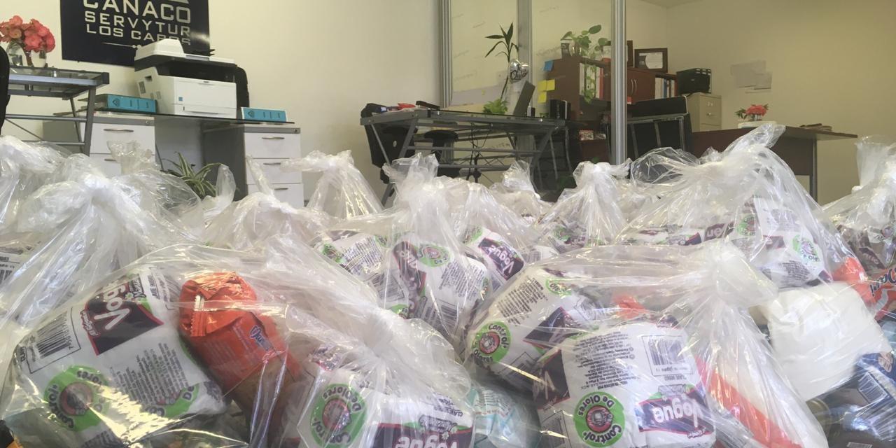 CANACO aporta 220 despensas a la Alianza Comunitaria