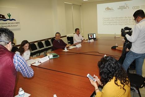 Empresarios y organismos ciudadanos Conforman la Alianza Comunitaria de Baja California Sur