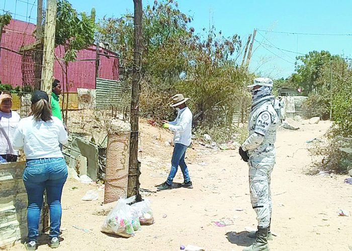 Más de 6 mil despensas en últimas dos semanas entregó Alianza Comunitaria por BCS en Los Cabos