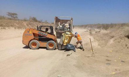 Retiran 355 toneladas de basura de arroyos en Los Cabos