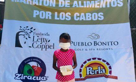 Maratón de Alimentos por Los Cabos benefició a 2 mil personas
