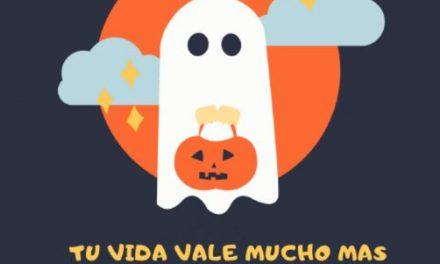 Mesa Covid lanza campaña: Pide no salir a celebrar Halloween