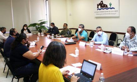 Se reforzará el Sistema de vigilancia en plaza Amelia Wilkes y La Marina de CSL: Mesa Seguridad Los Cabos